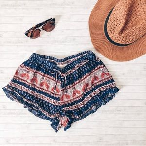 Lucy Love Paisley Soft Shorts